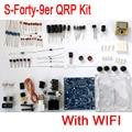 S-Forty-9er Радиолюбителей QRP Комплекты 3 Вт CW Передатчик-Приемник Телеграф Коротковолновое Радио 7.023 М С Модулем WI-FI Функция