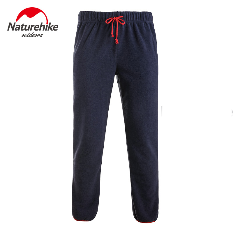 Naturehike Unisex Outdoor Sports Warm Trousers Fleece Hiking Elastic Pants NH17Z001-R цены онлайн