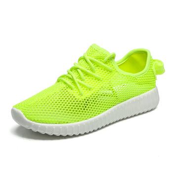 2019 New Styles Neon Color Air Mesh Breathable Summer Walking Shoes For Woman Ladies Sports Running Outdoor Sneakers for Female walking shoe
