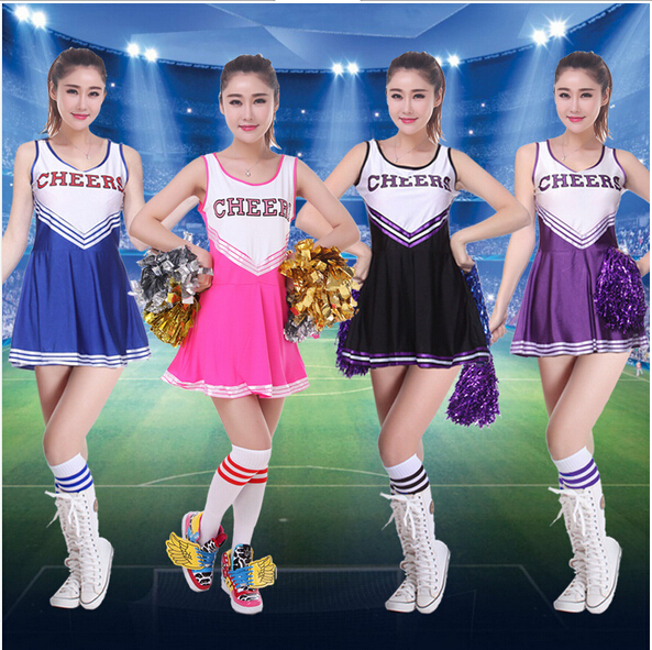 Lovely High School Musical Cheerleader Girl Uniform -6524