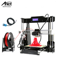 Anet A8 3D Printer Auto Level 3D Printer DIY Kit Aluminum Hot Bed LCD Screen 8GB