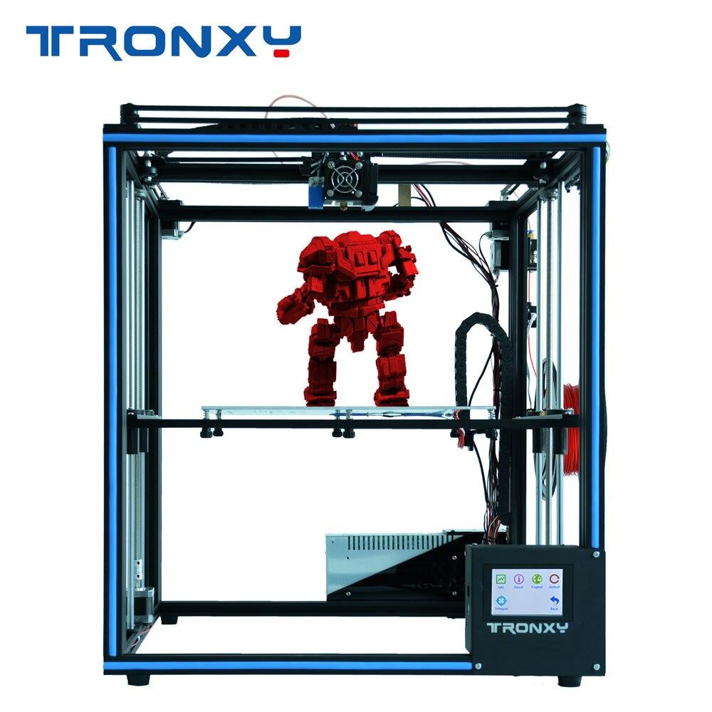 2019 TRONXY X5SA DIY full Metal Structure printing large size 330 330 400mm 3D impresora kit