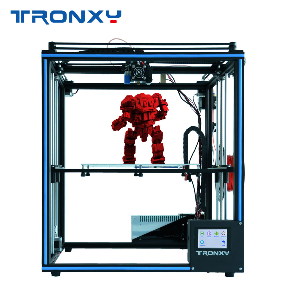 2019 TRONXY X5SA DIY full Metal Structure printing large size 330*330*400mm 3D impresora kit-in 3D Printers from Computer & Office    1