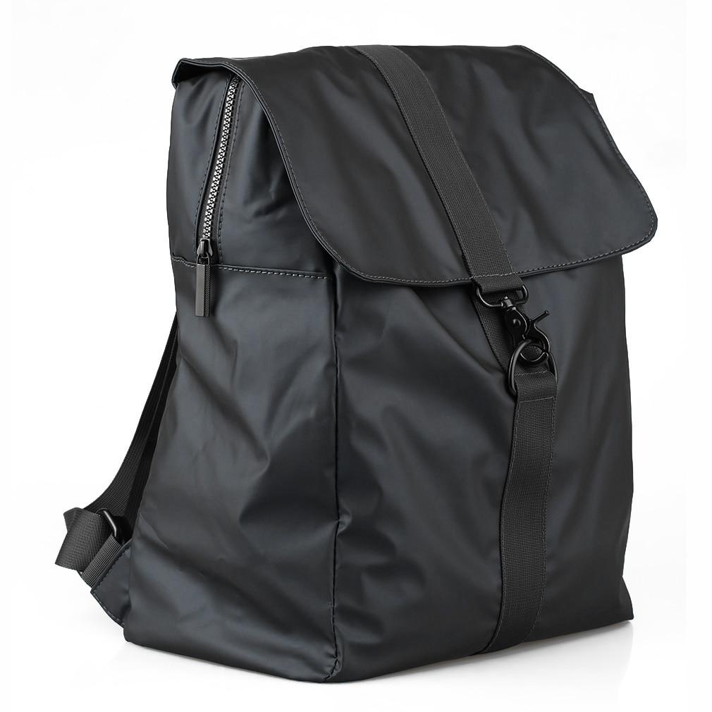 7591271675ab Waterproof Backpack School Laptop Backpacks For Teenage Solid Shoulder Bags  Preppy Chic Travel Student Bag worldwide sale-in Backpacks from Luggage    Bags ...