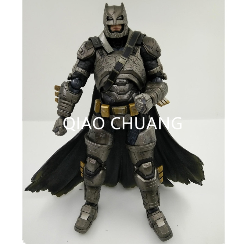 Play Arts KAI Batman v Superman Dawn of Justice NO.3 Armored Batman PVC Action Figure Collectible Model Toy 25CM RETAIL BOX G99 xinduplan dc comics play arts kai justice league batman reloading dawn justice action figure toys 25cm collection model 0637