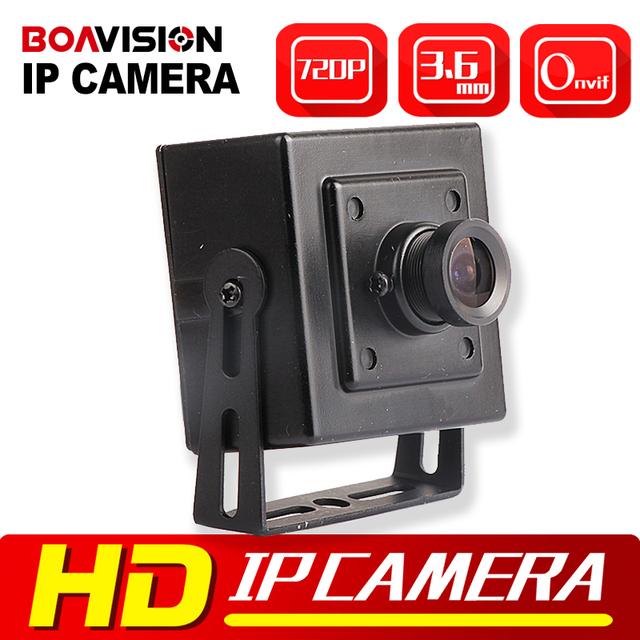 HD 720 P Mini Câmera IP Câmera de Segurança CMOS 1.0MP Rede 3.6mm Suporte Do Telefone Móvel de Vigilância ONVIF P2P Nuvem câmeras Indoor