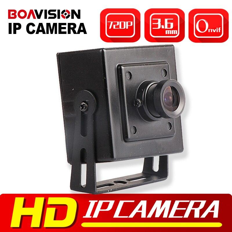 bilder für HD 720 P Mini IP Kamera Sicherheit CMOS 1.0MP Netzwerk Kamera 3,6mm Unterstützung Handy P2P Wolke ONVIF Überwachung kameras Innen