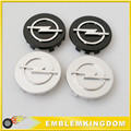 Car Styling 4Pcs OPEL Face 59mm Clip 56mm Car Wheel Hub Caps Silver ABS Wheel Center Wheel Centre Emblem Badge Stickers