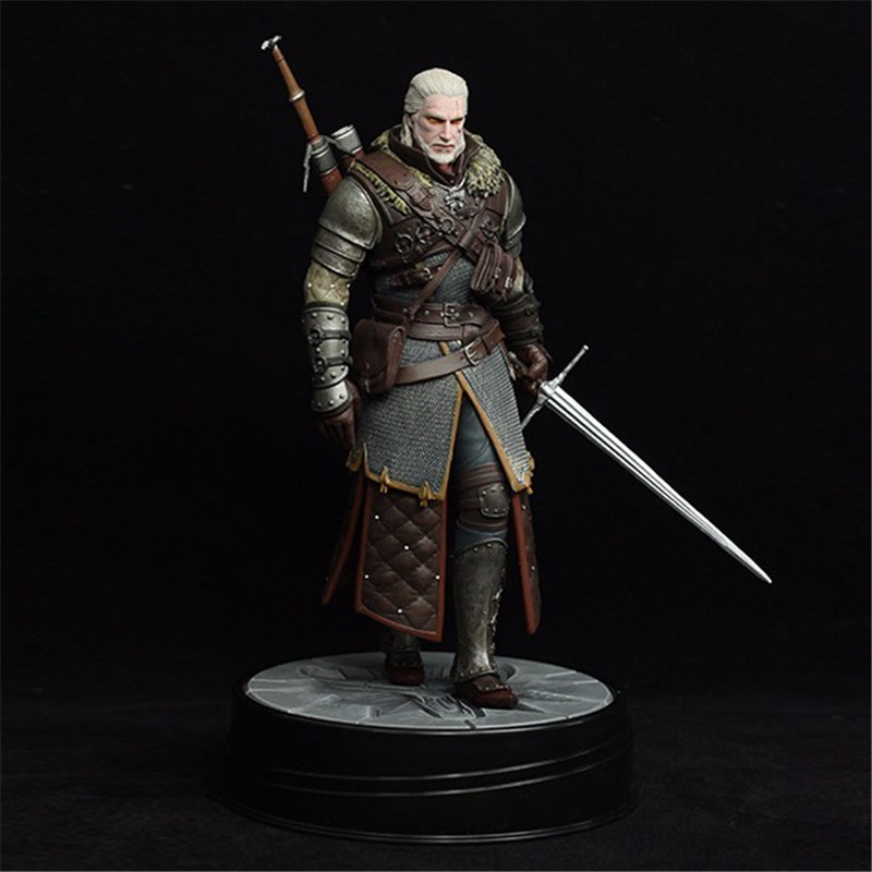 Tobyfancy The Witcher 3 - Wild Hunt: Geralt Grandmaster Ursine Figure