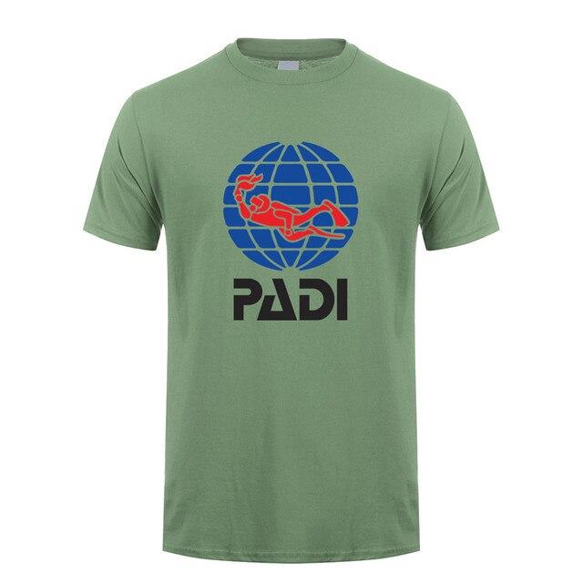Gr.:  2XL Men PADI T-Shirt Basic für Taucher // Diver weiß