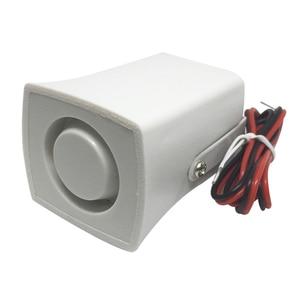 Image 3 - Mini klaxon, sirène dalarme sonore, 105db, sirène dintérieur filaire 12V DC, pour la maison et le système dalarme