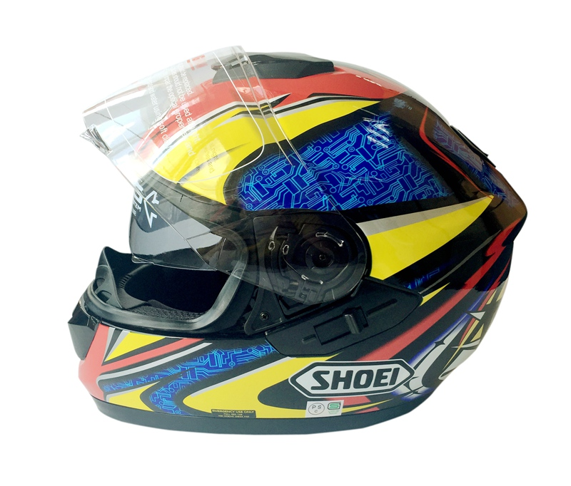2017 Newest Shoei Brand GT Air Motorcycle Full Face font b Helmet b font Double Lens