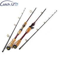 2 1M 10 25g Test Adjustable Length Carbon Fiber Lure Carp Casting Spinning Fishing Rod