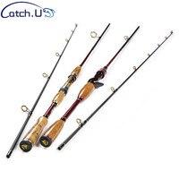 2 1M 10 25g Test Adjustable Length Carbon Fiber Lure Carp Casting Spinning Fishing Rod