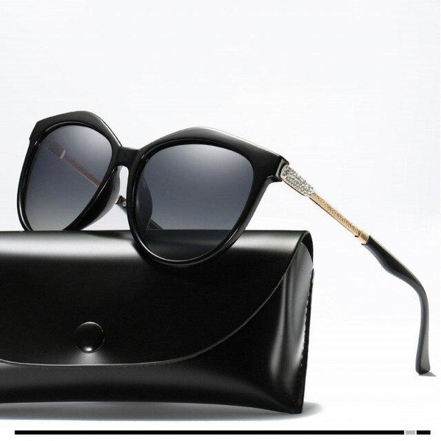 AAAA Polarized Sunglasses Women Shining Diamond Brand Design Square Shades Female Eyewear Mirror Sun Glasses Oculos Lunette