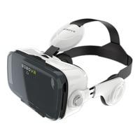 HKGK Original BOBOVR Z4 Leather 3D Cardboard Helmet Virtual Reality VR Glasses Headset Stereo Box BOBO VR for 4 6' Mobile Phone