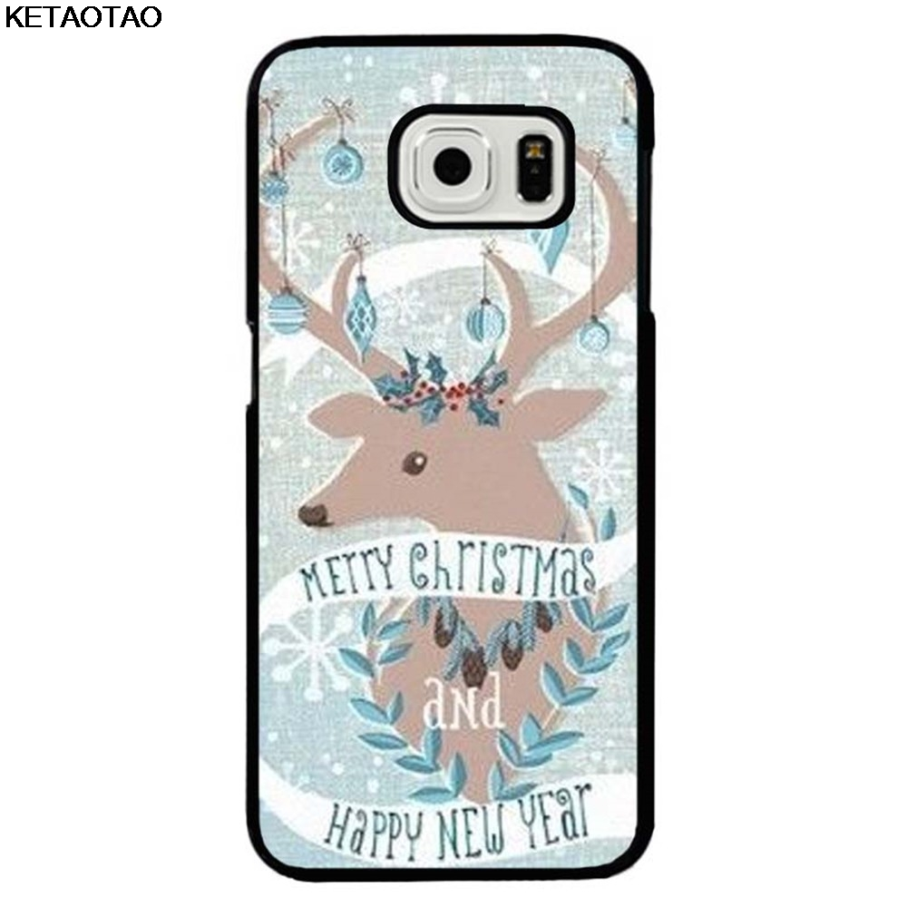 KETAOTAO Happy New Year Merry <font><b>Christmas</b></font> Eve <font><b>Phone</b></font> <font><b>Cases</b></font> for Samsung S3 S4 S5 <font><b>S6</b></font> S7 S8 S9 NOTE 7/8 <font><b>Case</b></font> Soft TPU Rubber Silicone