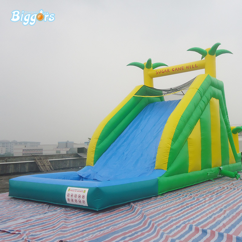 Outdoor Children Game Inflatable Water Pool Slide Kids Inflatable Water Slide 2017 outdoor playhouse water slide inflatable slide trapaulin pvc slide sandal toy market guangzhou china