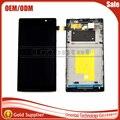 Cheia nova new para sony xperia c dual s39h c2304 C2305 LCD display + Touch Screen Digitador Assembléia com moldura quadro Livre grátis