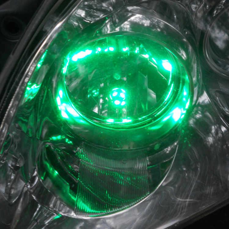 12 V LED Grün Farbe Auto T10 (10mm Flutlampe) W5W, 5d für Tür Stamm Boot Lizenz Leselicht