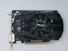 Used, ASUS HD7750 1GB DDR5 128bit Gaming Desktop PC Graphics Card ,100% tested good.(China)