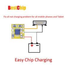 5 шт. новейший ECC простой чип зарядка исправление всех проблем с зарядным устройством для всех мобильных телефонов и планшетов pcb и ic проблема не зарядное устройство хорошая работа