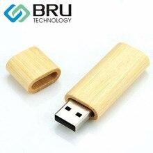 4 ГБ USB Flash Drive для Подарков На Заказ Окружающей Деревянный Pendrive Бамбук Памяти диска OEM Лазерной Гравировки и Печати логотип