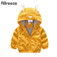Abreeze Spring Autumn Children Outerwear Coats Classic Animal Style Kids Jackets For Boys Girls New 1