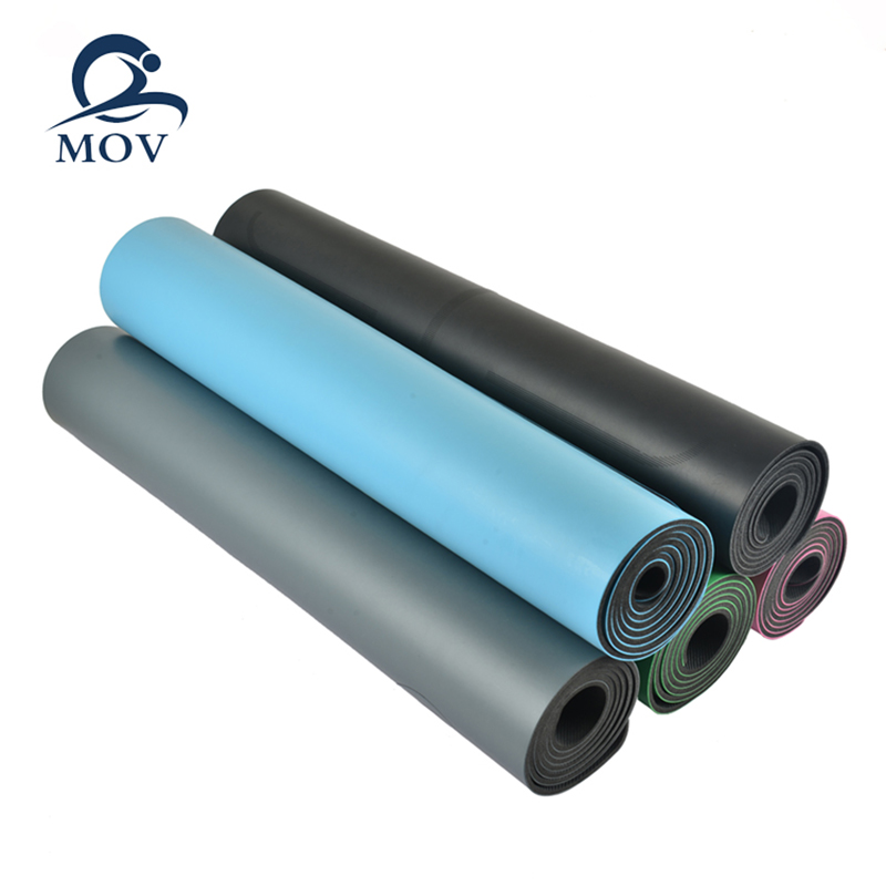 Non Slip Eco friendly PU Natural Rubber Yoga Mat