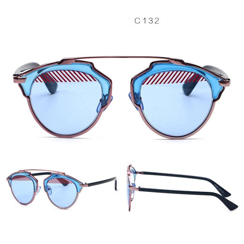 394d80a5e2 Double Bridge Designer COMPOSIT 1.0 Men Women Sunglasses Mirrored Metal  Futurism Shades Glasses Oculos De Sol European Style