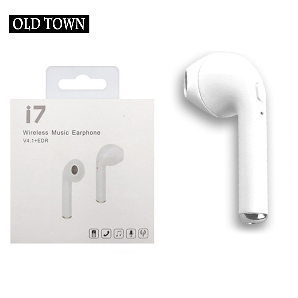 For Apple Xiaomi D9 I7 F10 TWS Bluetooth Earphone True Wireless Stereo Earbud Bluetooth Headset for Phone Communication Portable