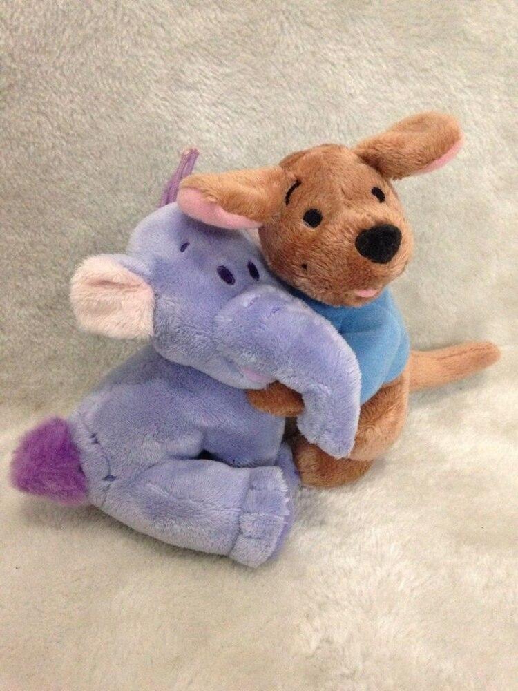 3fb264ac Роо Плюшевые Игрушечные лошадки kanga и Роо Плюшевые Мини Размер 15 см  кенгуру плюшевые Игрушечные лошадки