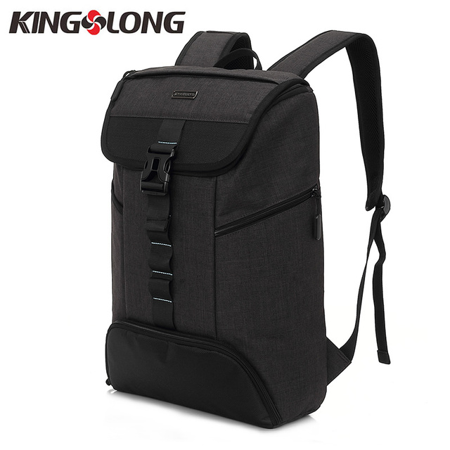 d282fde46f8 KINGSLONG New 17 Inch Laptop Backpack Men s Backpack with Shoes Compartment  Large Capacity Fashion Travel Daypack KLB1385-5