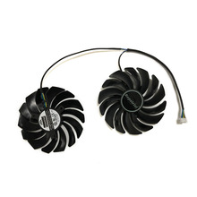 2pcs/lot computer radiator cooler Fans RX470 Video Card cooling fan For MSI RX570 RX 470 GAMING 8G GPU Graphics Card Cooling