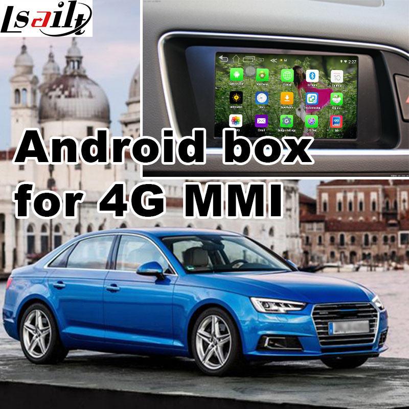 Android Gps Navigation Box For Audi A4 2017 Etc 4g Mmi System Video Interface Mirror Link You Facebook Quad Core In Vehicle From Automobiles