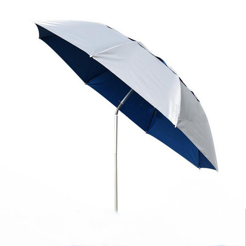 1.8m aluminum outdoor tent fishing umbrella, rain, wind, UV, fishing umbrella, folding umbrella, beach umbrella bluerise modern outdoor umbrella garden patio sunshade 6 bones folding advertising beach garden tent umbrella villa garden