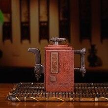 Полный сырой руды The cultural Revolution Mud чайный горшок Искусство войны солнца Tzu Настой чайника агент кусок поколения волос