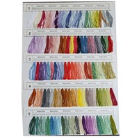 430 Colors Polyester Embroidery Thread Cross Stitch Thread Pattern Kit Embroidery Floss Sewing Skein XB 66