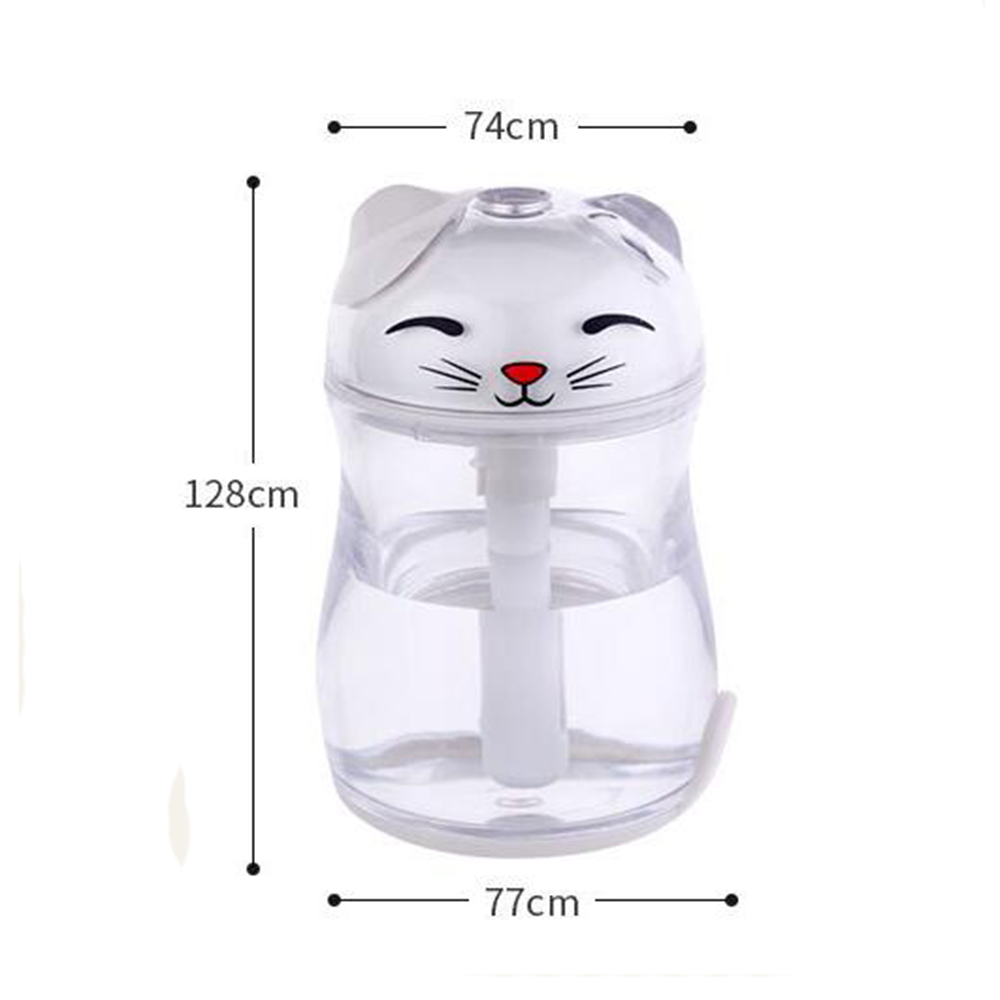Lucky Cat Forme Mini Air Humidificateur Bureau USB Huile Essentielle - Appareils ménagers - Photo 5