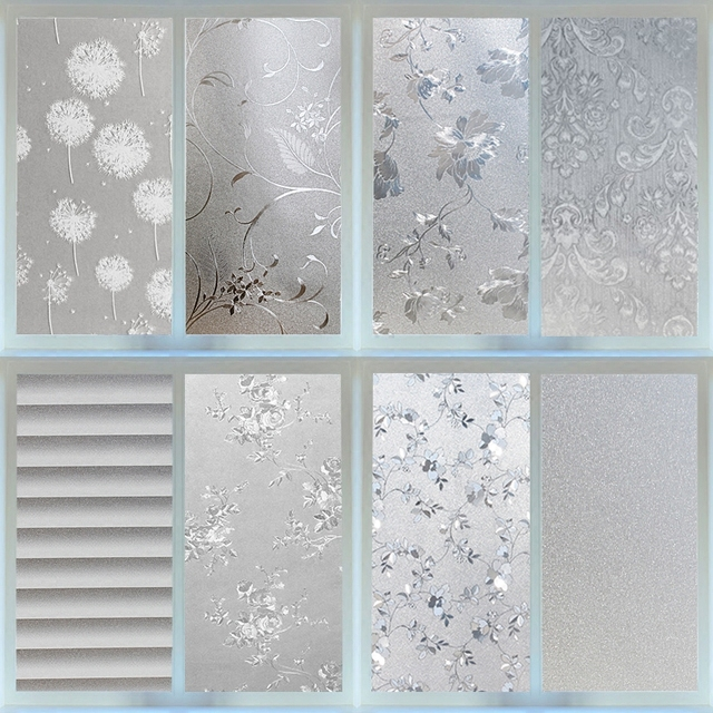60x100cm More Style Static Gl Film Bathroom Windows Privacy Toilet Living Room Office Balcony Door And