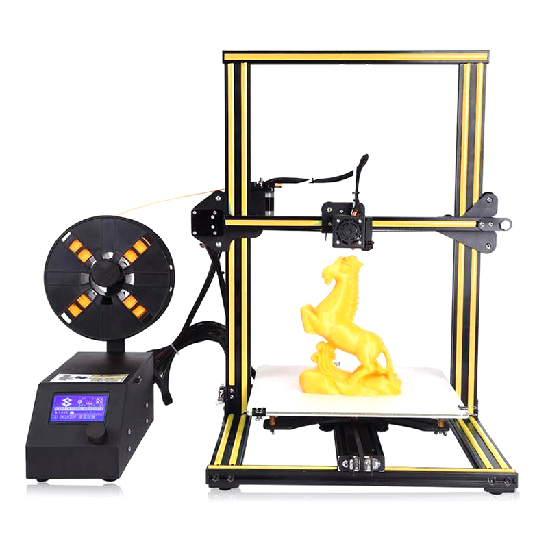 DIY 3D Printer 0.1mm High Precision FDM 300*300*400mm Portable Desktop Industrial Grade PLA Consumable LCD On/Off-Line high quality 3d printer consumable items