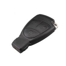 3 кнопки умный ключ чехол для Mercedes Benz B C E ML S CLK CL с батарея держатель Клип Замена ключи крышка