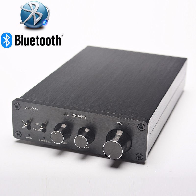 160W*2 Bluetooth TDA7498E Home Digital Amplifier Stereo Hi-Fi Audio Power Amplifier APT-X stereo audio amplifier 2 x 40w