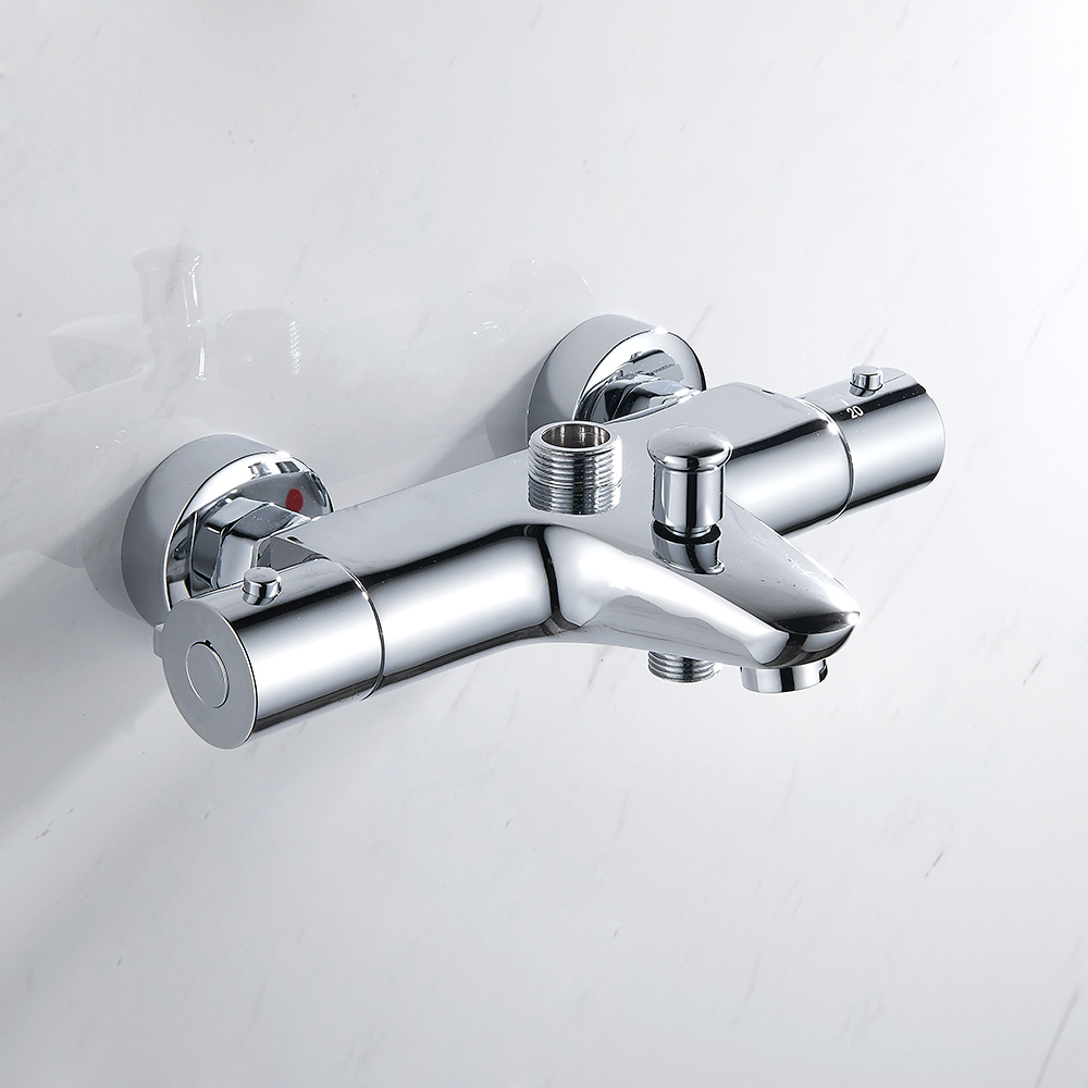 EVERSO Stainless Steel Thermostatic Mixing Valve Thermostatic Shower Faucets Bathroom Shower Faucet Set Wall Mounted bathroom shower water thermostatic control valve mixer faucet tap wall mounted bath shower ceramic thermostatic faucets valve