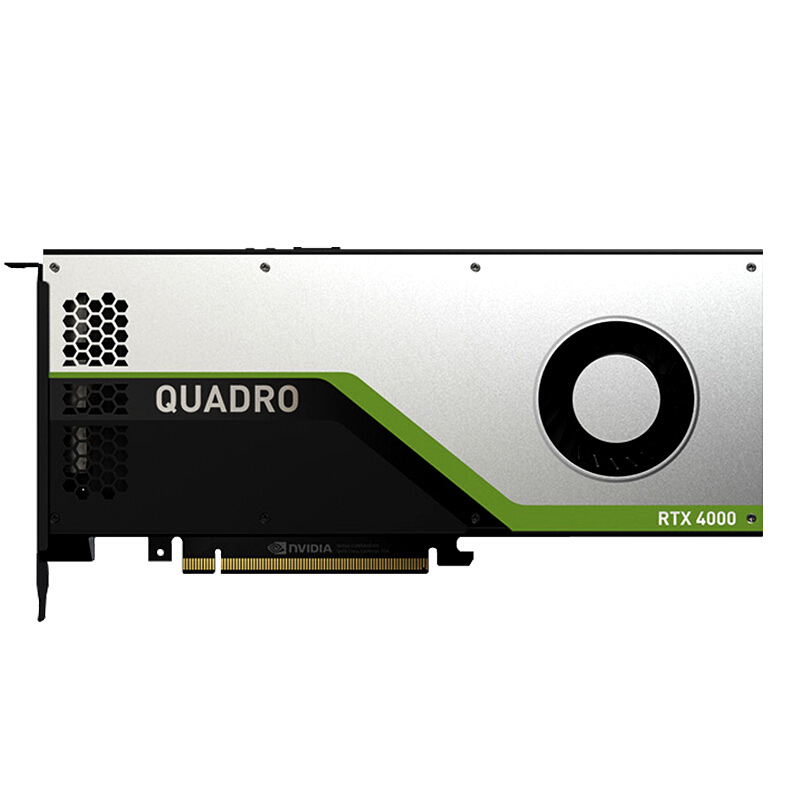 Leadtek NVIDIA Quadro RTX4000 8GB GDDR6/real-time ray tracing/GPU graphics card