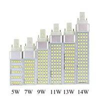 E27 G24 5W 7W 9W 11W 14W 85V 265V AC LED Corn Light Lamp LED PL