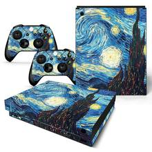 GOOYIYO - For Microsoft XBOX ONE X Sticker Gamer Console Controllers Vinyl Decal DIY Personality Cartoon Skin XBOX ONE X Sticker(China)
