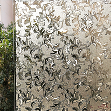 45/60/75/90 x 200 cm vinyl privacy window film,static cling self-adhesive decorative opaque stained sun blocking covers