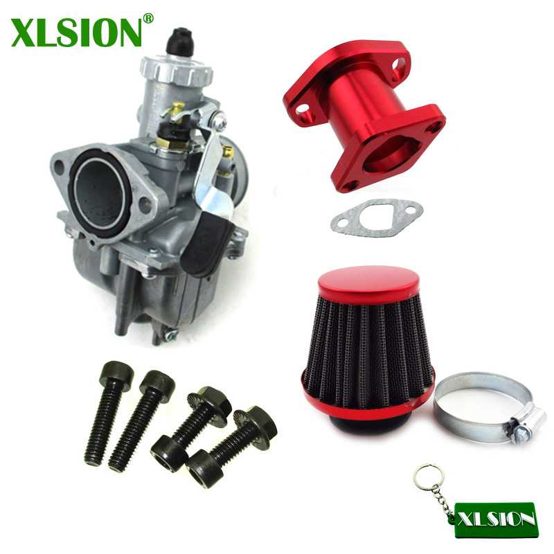 XLSION VM22-3847 Mikuni Карбюратор Комплект для GX200 196cc Clones двигатель Хищник 212cc КАРТИНГ мини велосипед