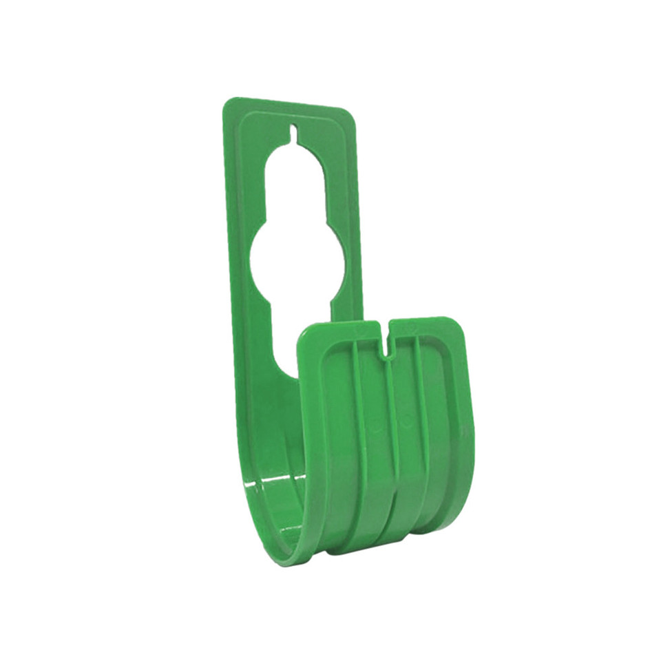 1PC house garden outdoor pipe holder hanger wall mounted watering storage rack